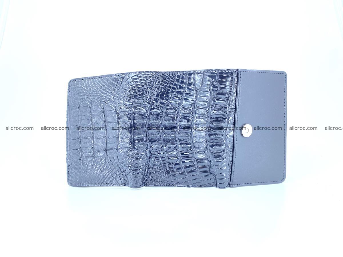 Crocodile skin wallet for women 405 Foto 7