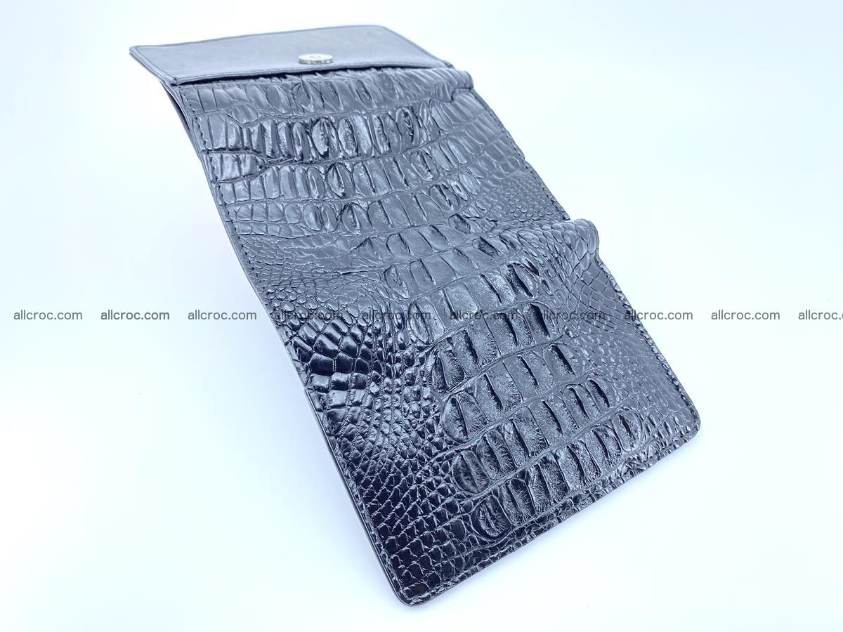 Crocodile skin wallet for women 405 Foto 8
