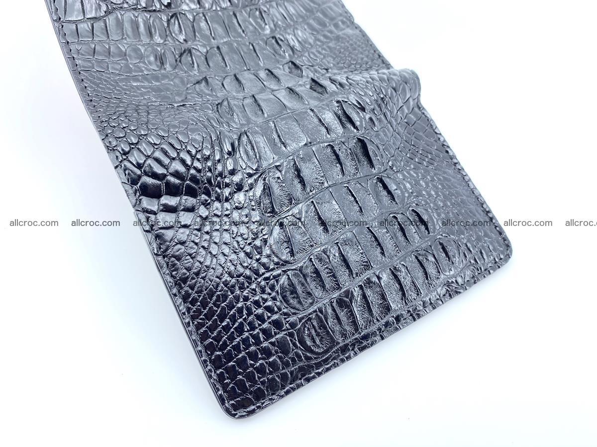 Crocodile skin wallet for women 405 Foto 10