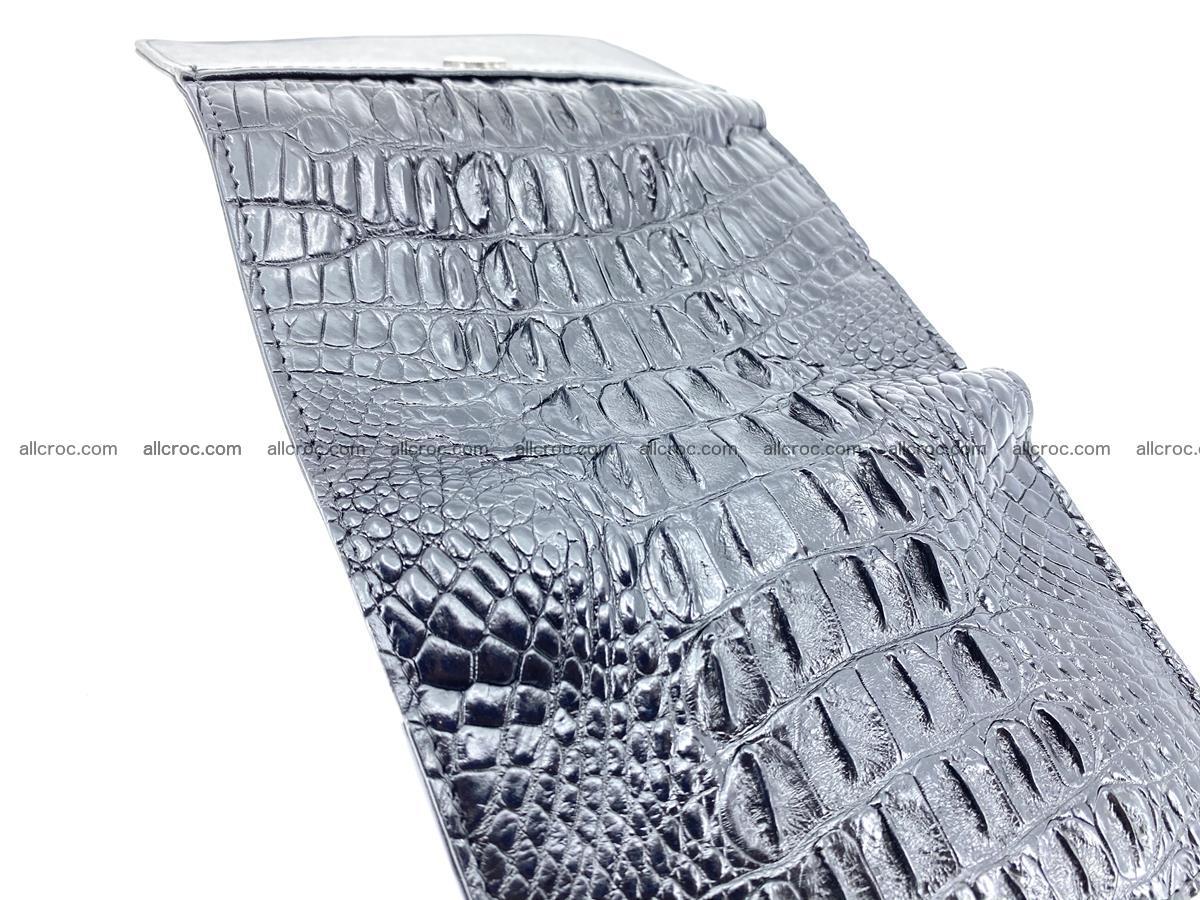 Crocodile skin wallet for women 405 Foto 9