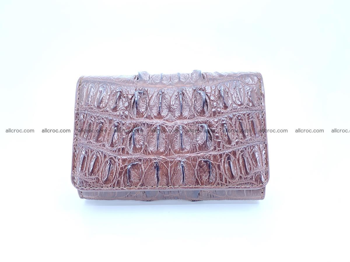 Crocodile skin wallet for women 404 Foto 0
