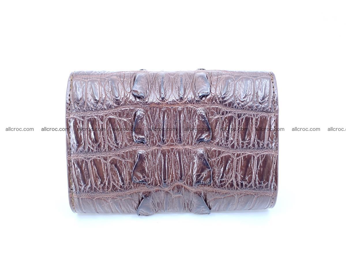 Crocodile skin wallet for women 404 Foto 1