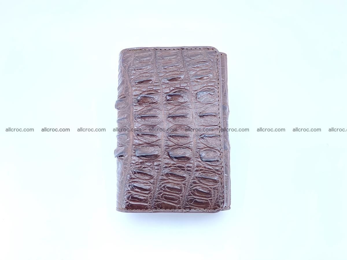 Crocodile skin wallet for women 404 Foto 2