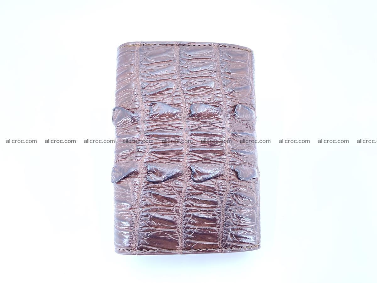 Crocodile skin wallet for women 404 Foto 3