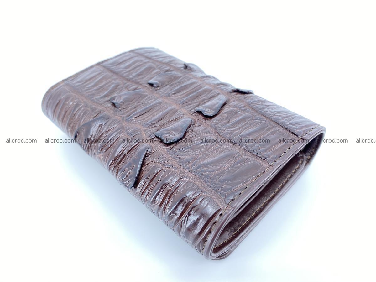 Crocodile skin wallet for women 404 Foto 5