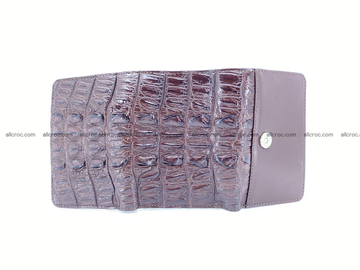 Crocodile skin wallet for women 404 Foto 6