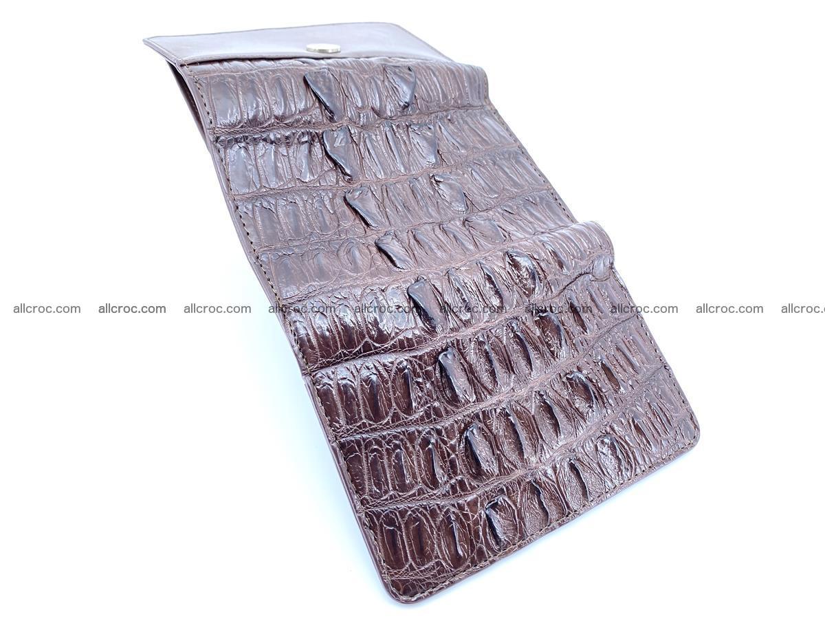 Crocodile skin wallet for women 404 Foto 7