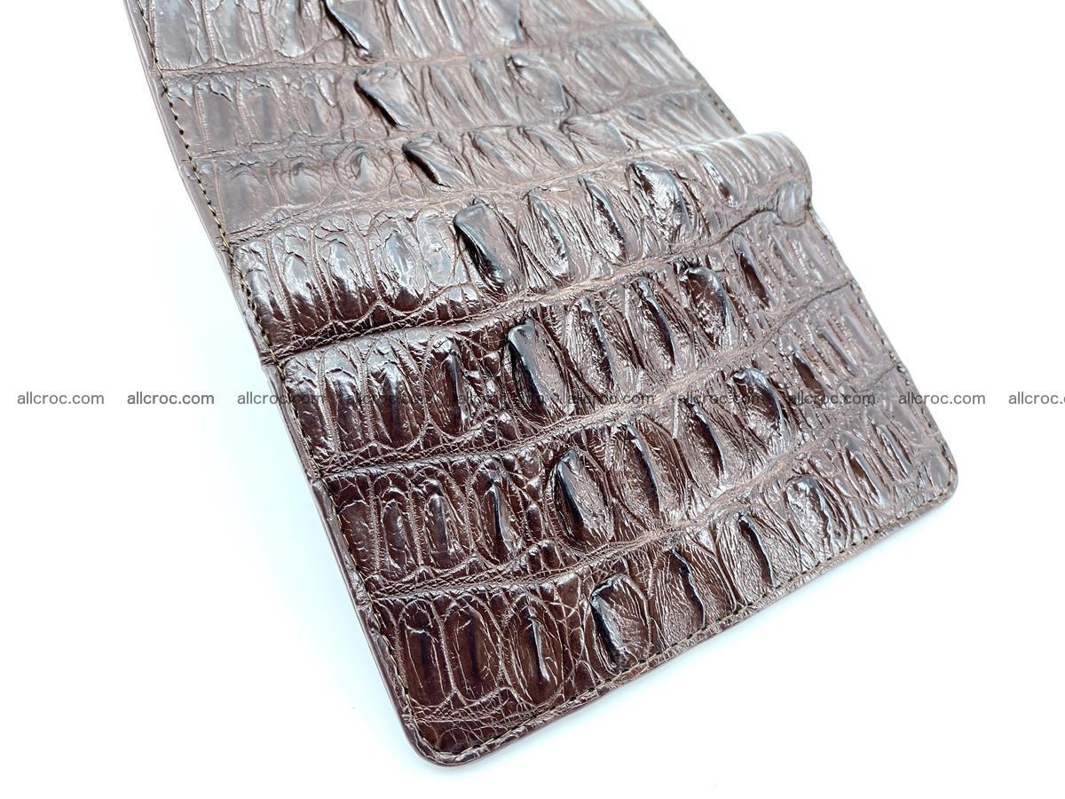 Crocodile skin wallet for women 404 Foto 9