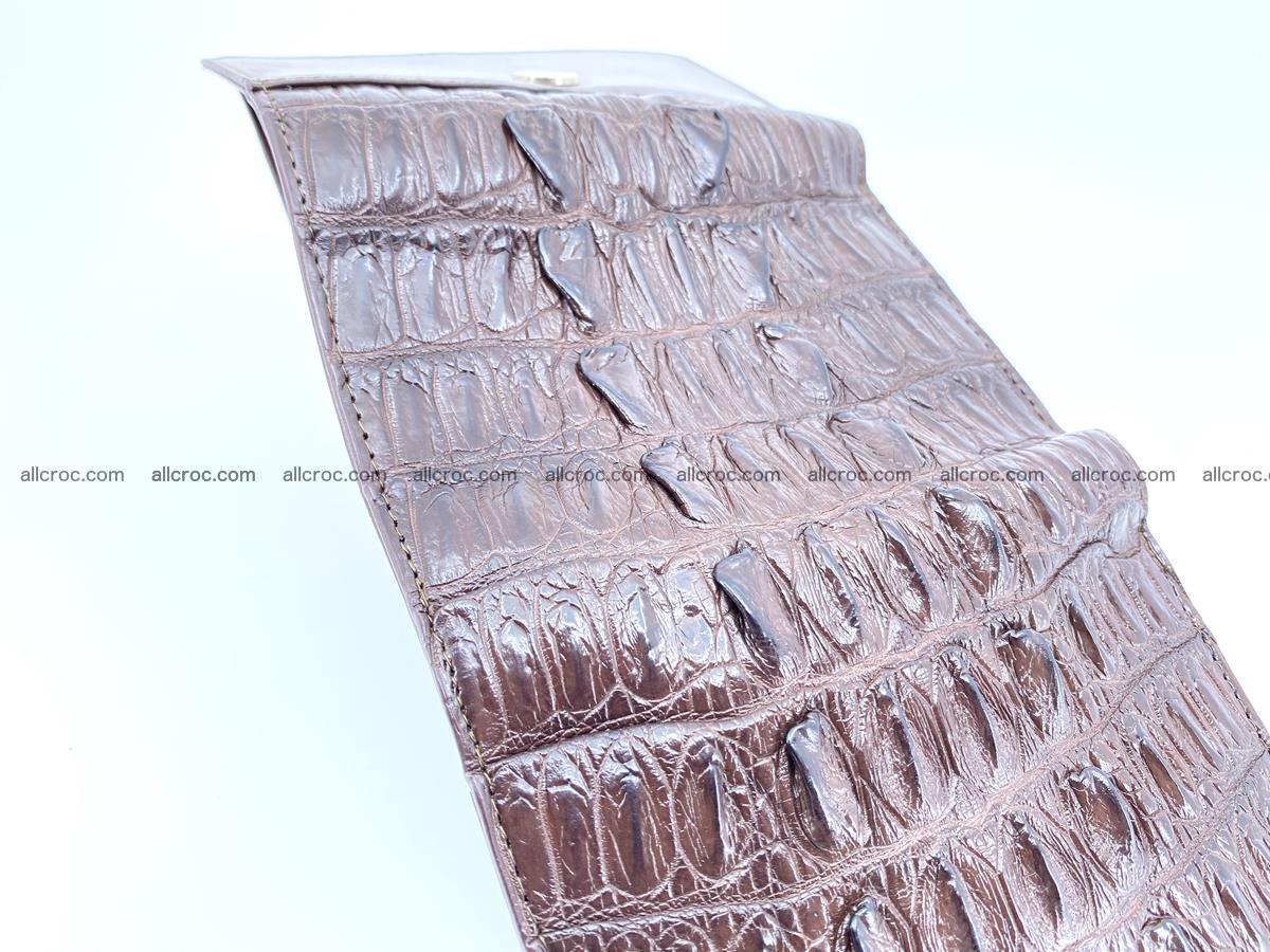 Crocodile skin wallet for women 404 Foto 8