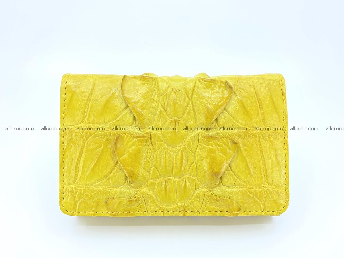 Crocodile skin wallet for women 399 Foto 0