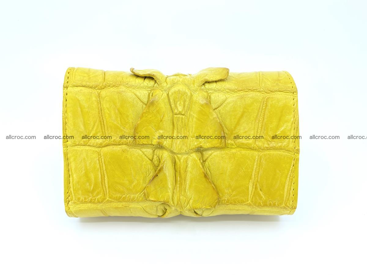 Crocodile skin wallet for women 399 Foto 1