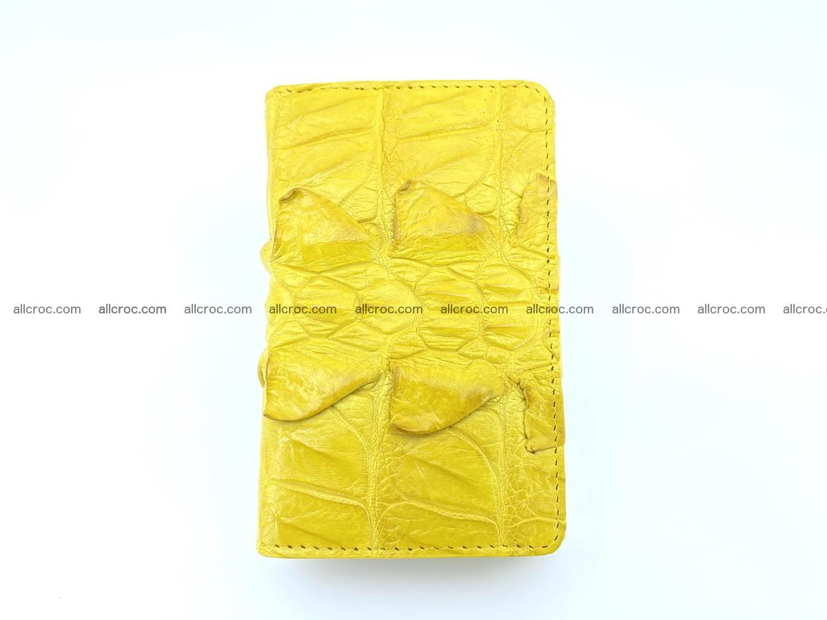 Crocodile skin wallet for women 399 Foto 2