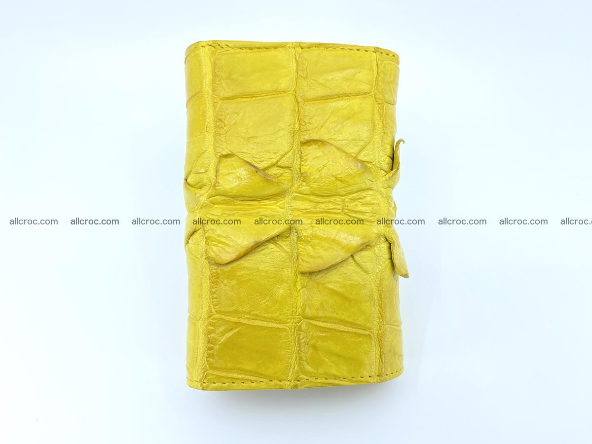 Crocodile skin wallet for women 399 Foto 3