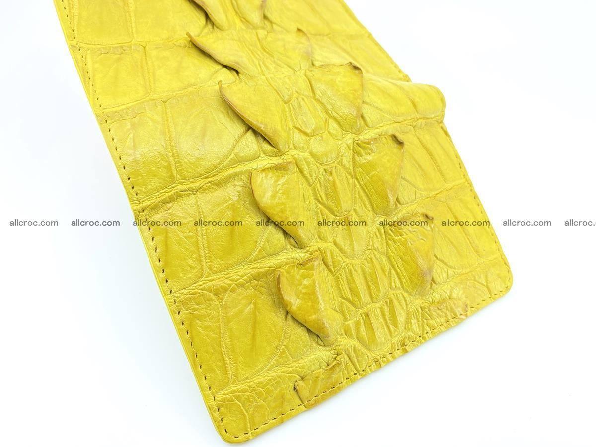 Crocodile skin wallet for women 399 Foto 8
