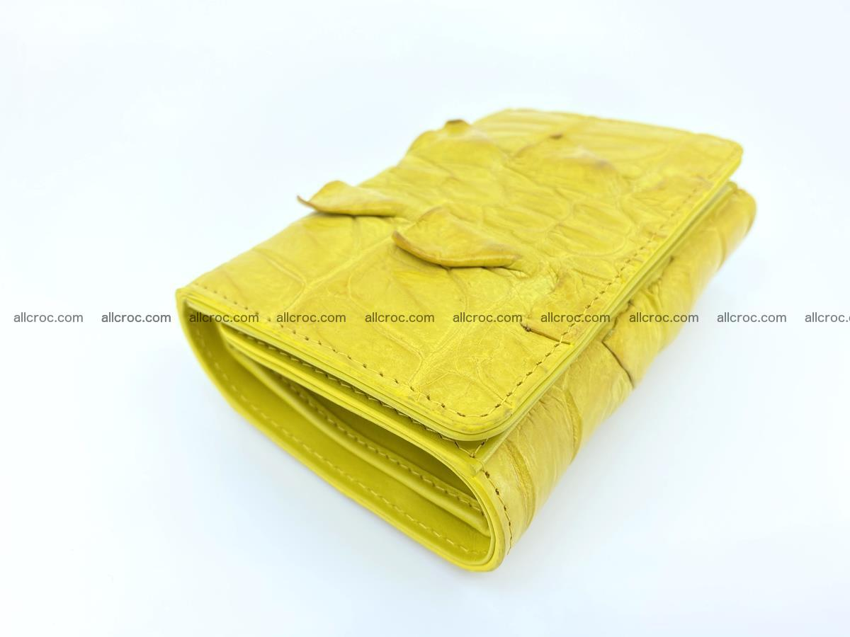 Crocodile skin wallet for women 399 Foto 4