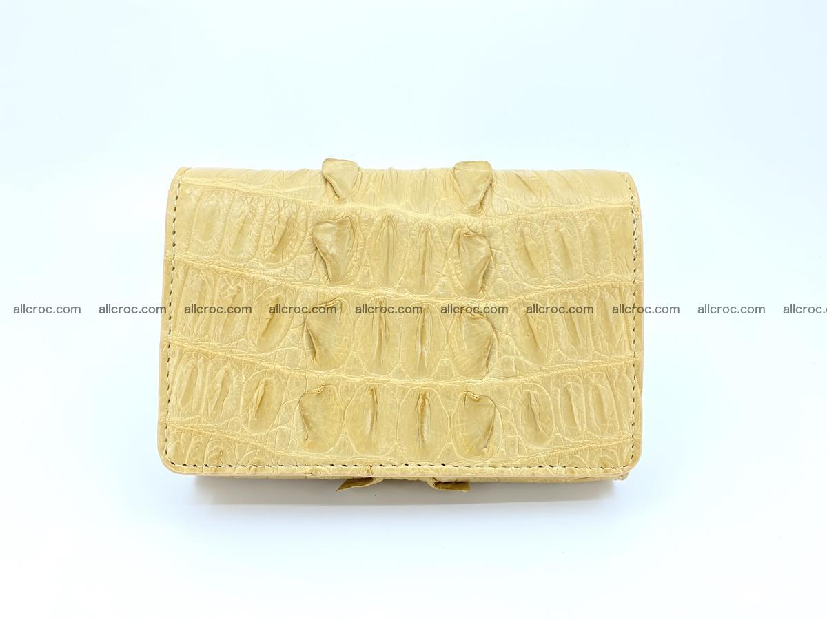 Crocodile skin wallet for women 403 Foto 0