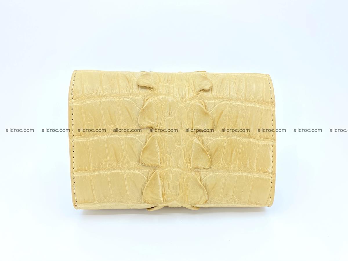 Crocodile skin wallet for women 403 Foto 1