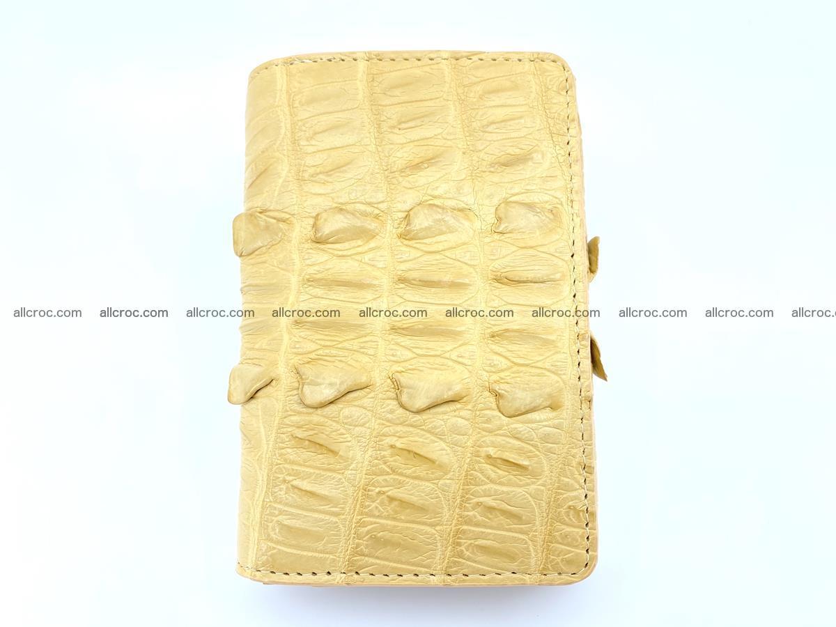 Crocodile skin wallet for women 403 Foto 2