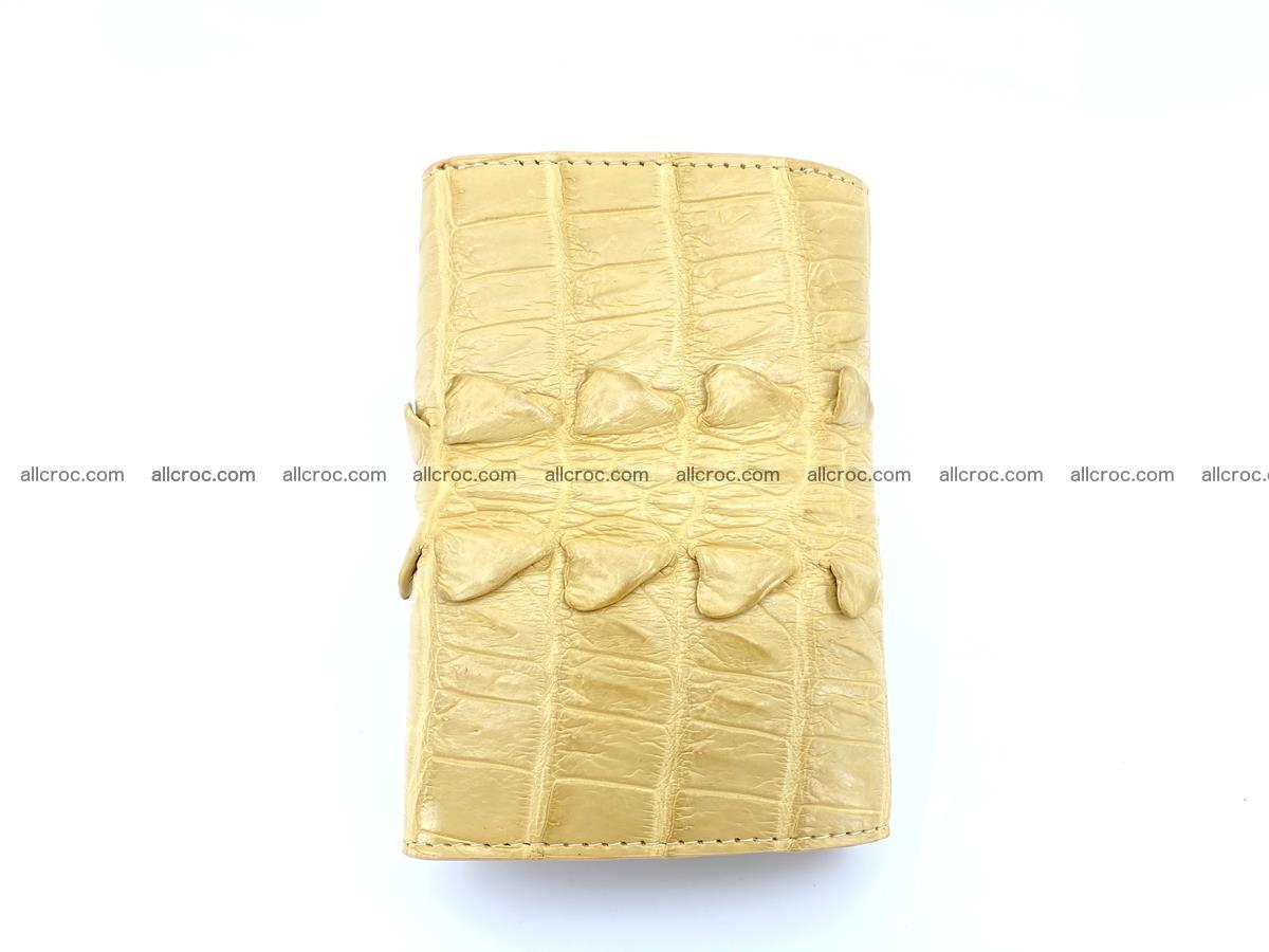 Crocodile skin wallet for women 403 Foto 3