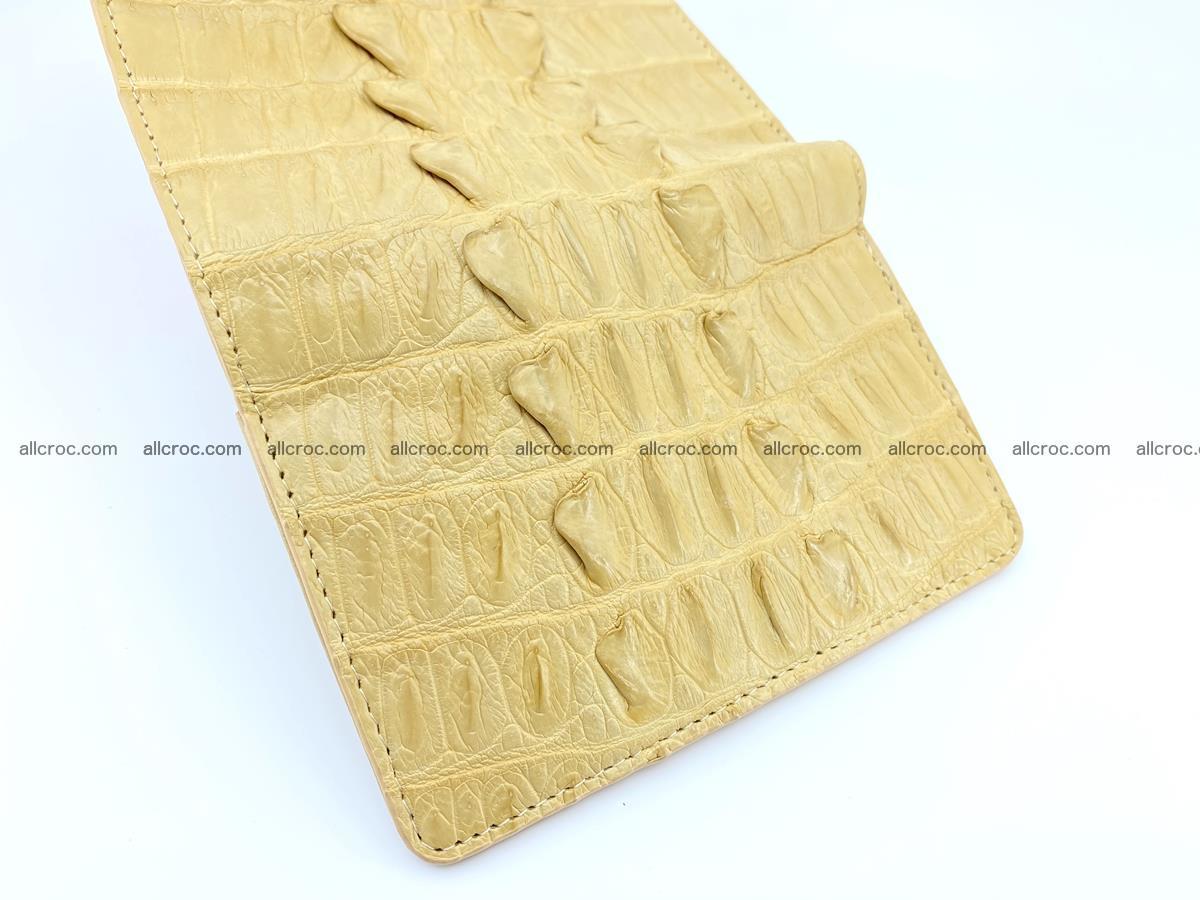 Crocodile skin wallet for women 403 Foto 8