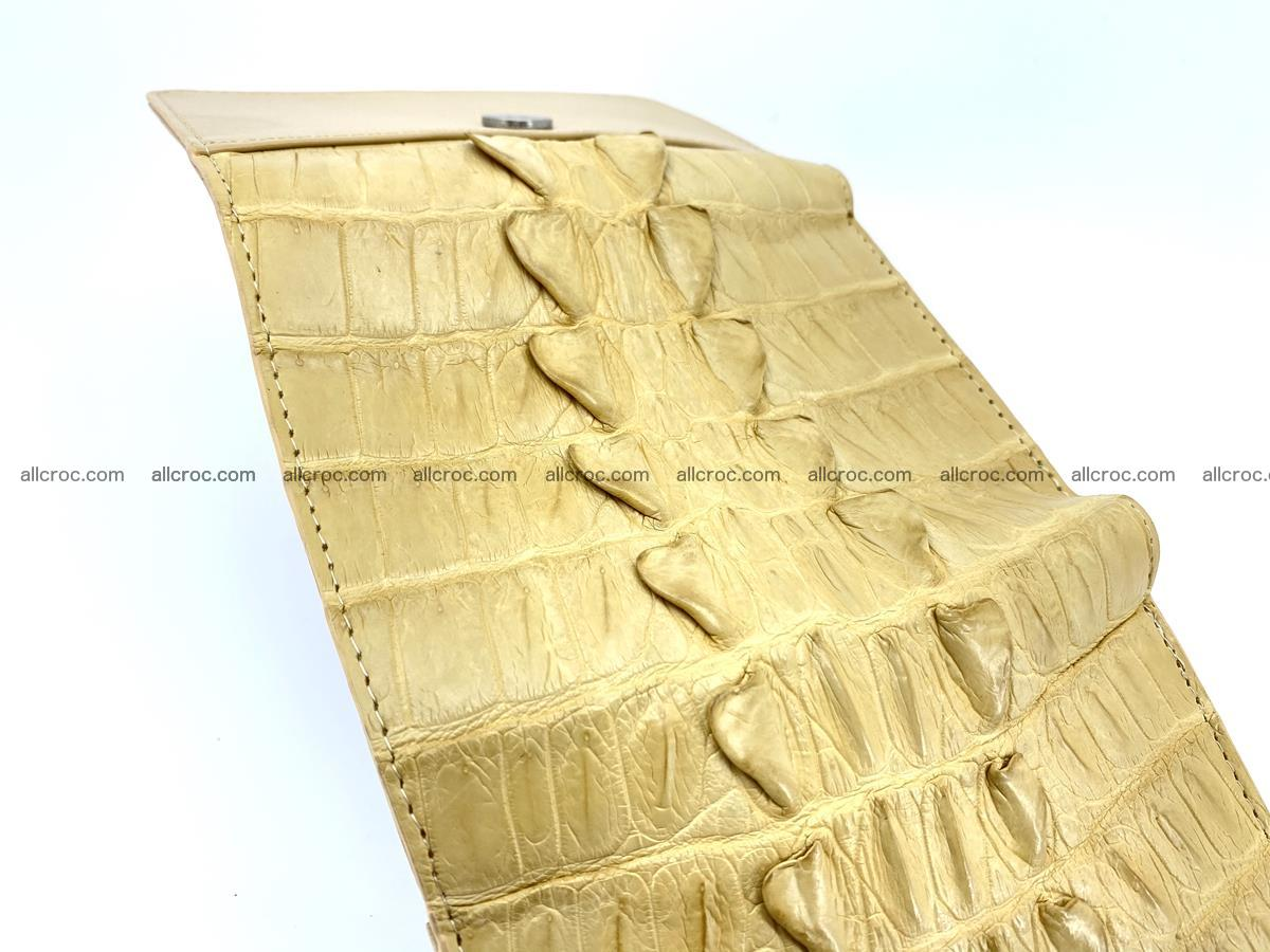 Crocodile skin wallet for women 403 Foto 9