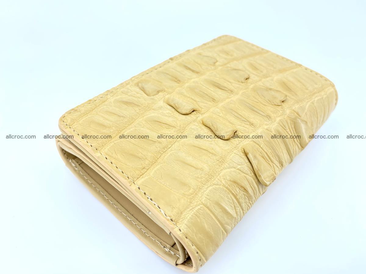 Crocodile skin wallet for women 403 Foto 4