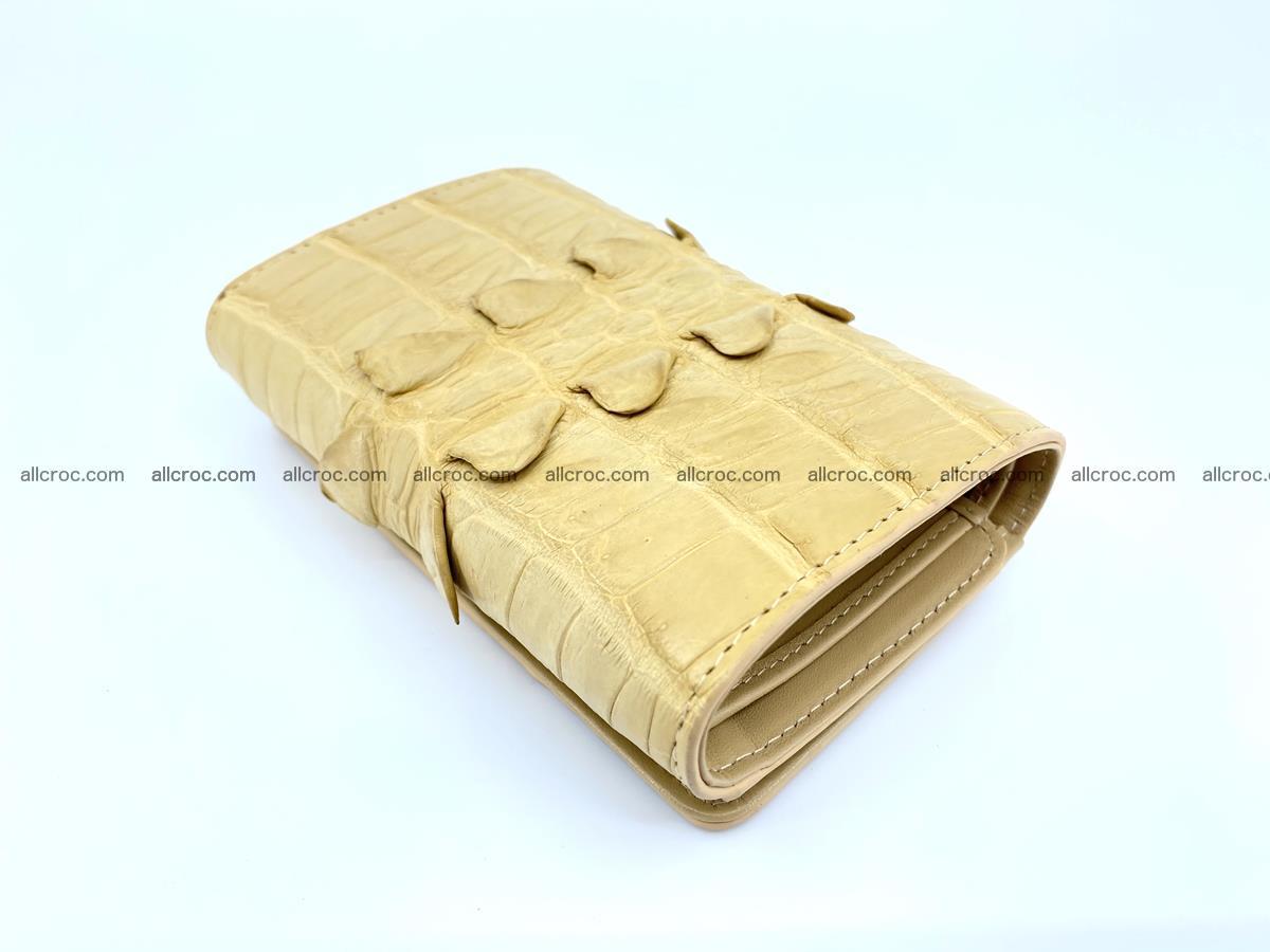 Crocodile skin wallet for women 403 Foto 5