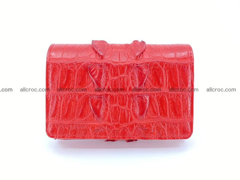 Crocodile skin wallet for women 394