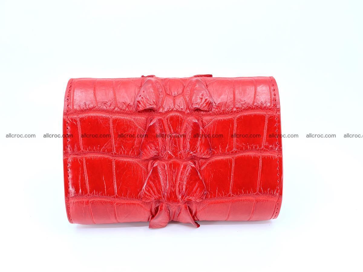 Crocodile skin wallet for women 394 Foto 1