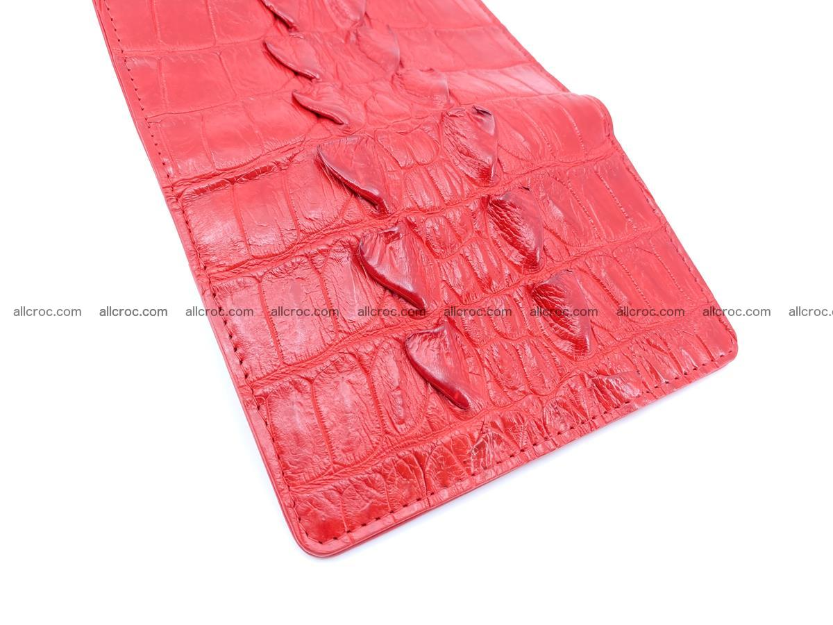 Crocodile skin wallet for women 394 Foto 6