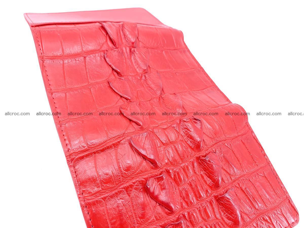 Crocodile skin wallet for women 394 Foto 7