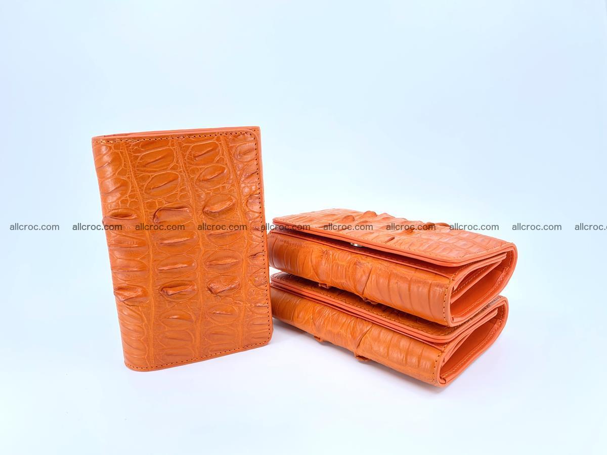 Crocodile skin wallet for women 400 Foto 10