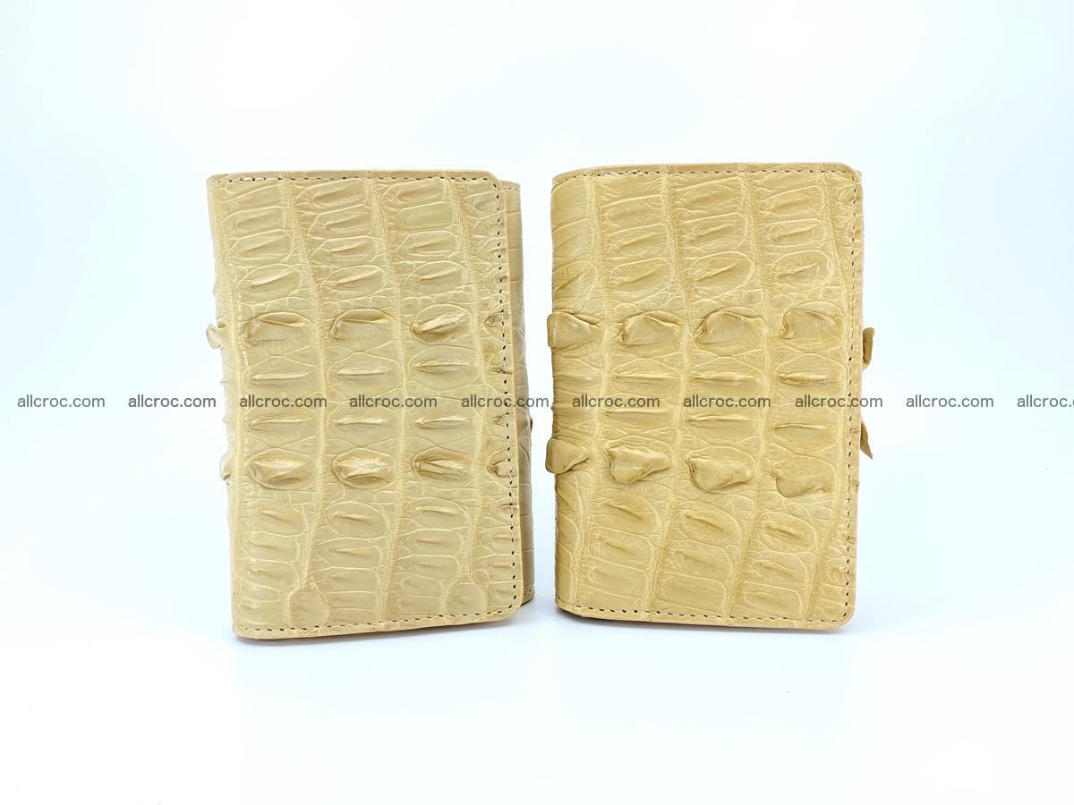 Crocodile skin wallet for women 403 Foto 10