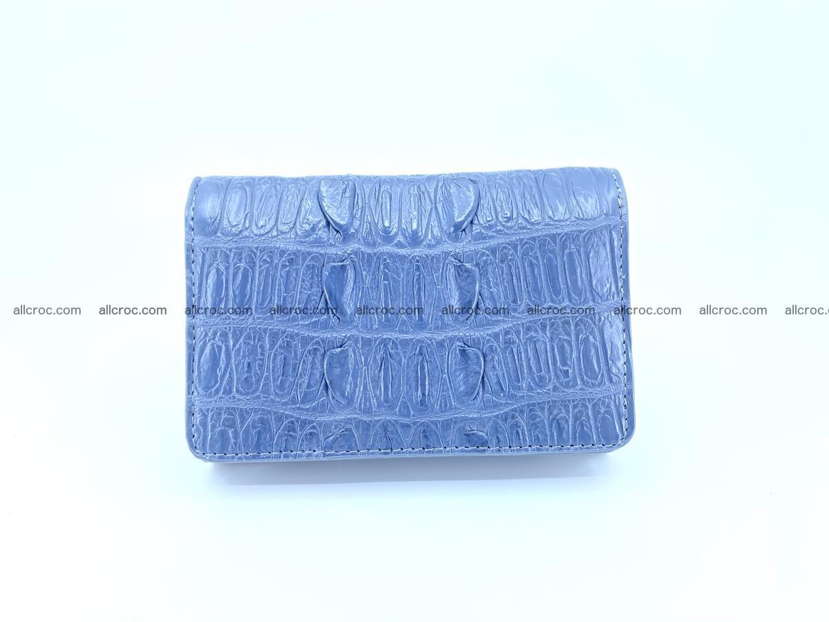 Crocodile skin wallet for women 402 Foto 0