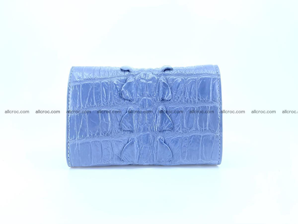 Crocodile skin wallet for women 402 Foto 1
