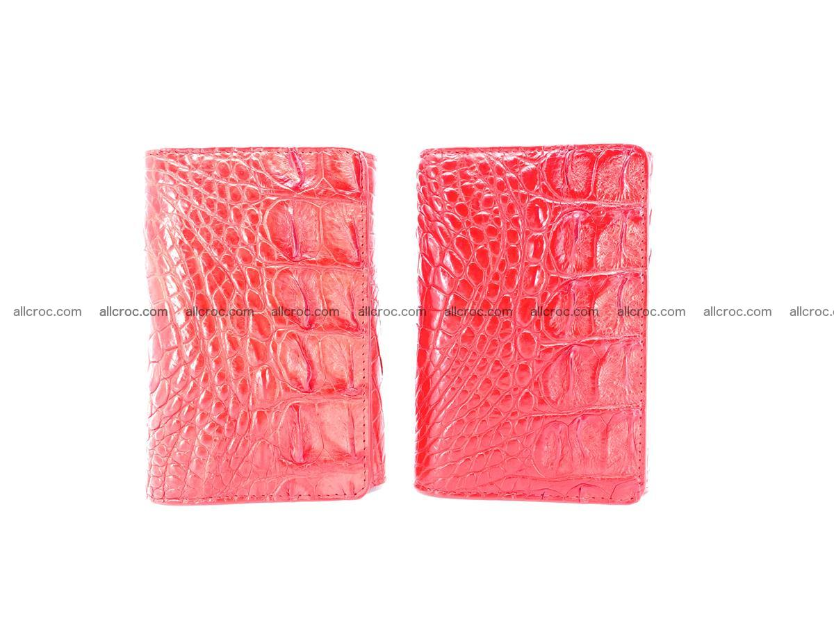Crocodile skin wallet for women 958 Foto 11