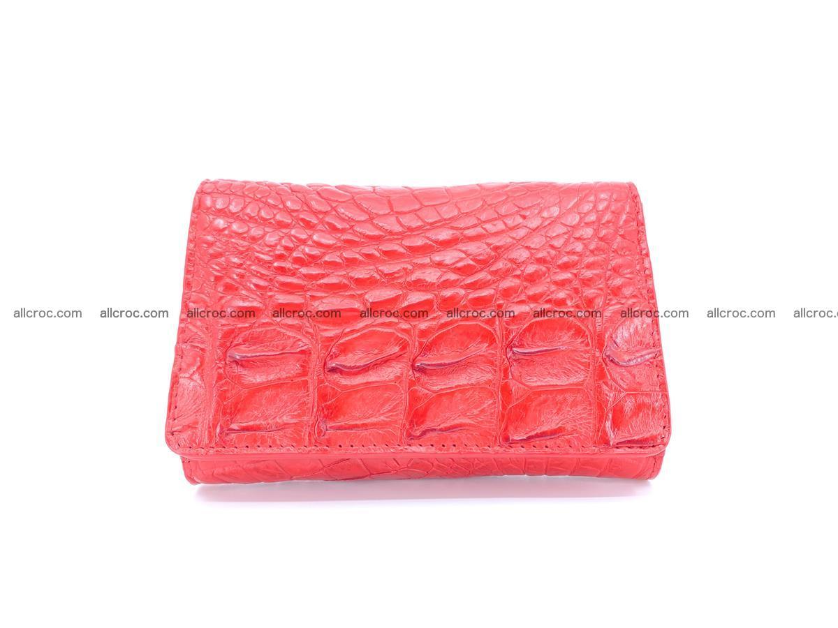 Crocodile skin wallet for women 958 Foto 0