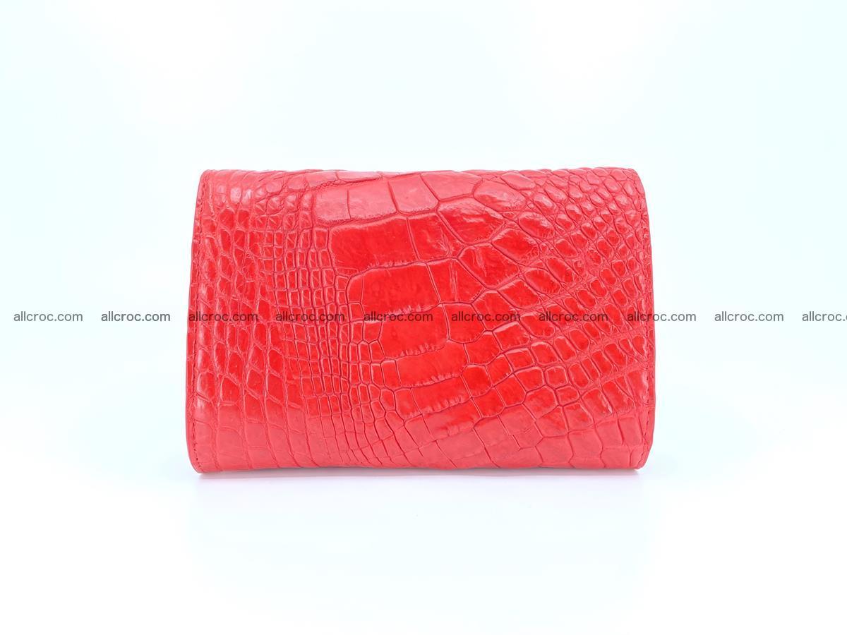 Crocodile skin wallet for women 958 Foto 1