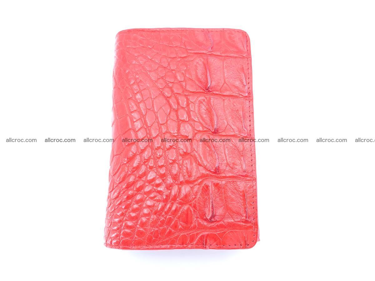 Crocodile skin wallet for women 958 Foto 2