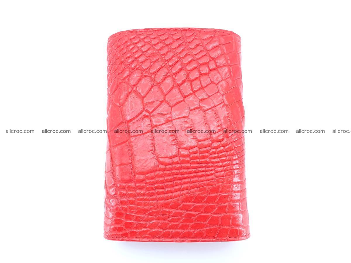 Crocodile skin wallet for women 958 Foto 3