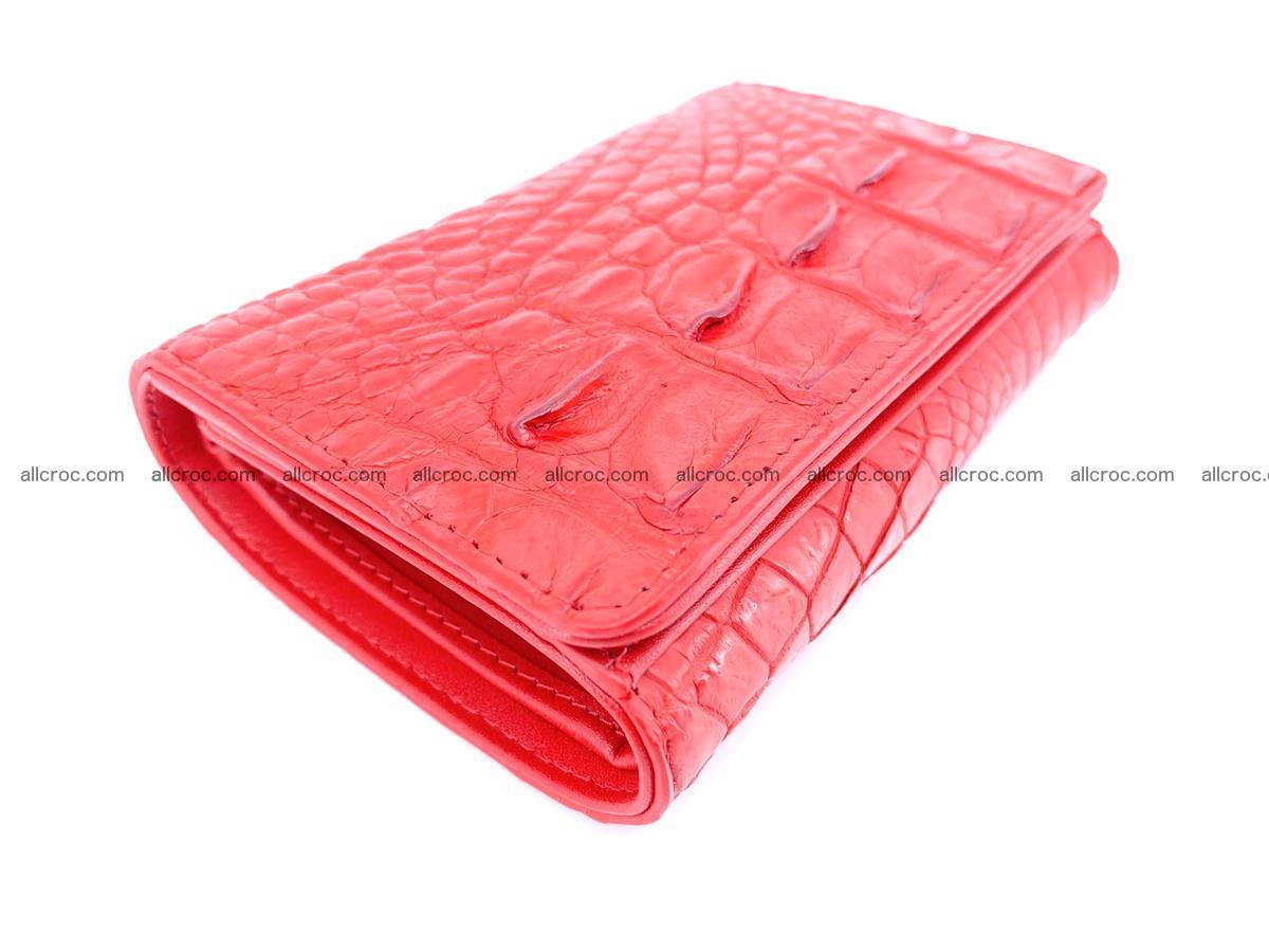 Crocodile skin wallet for women 958 Foto 4