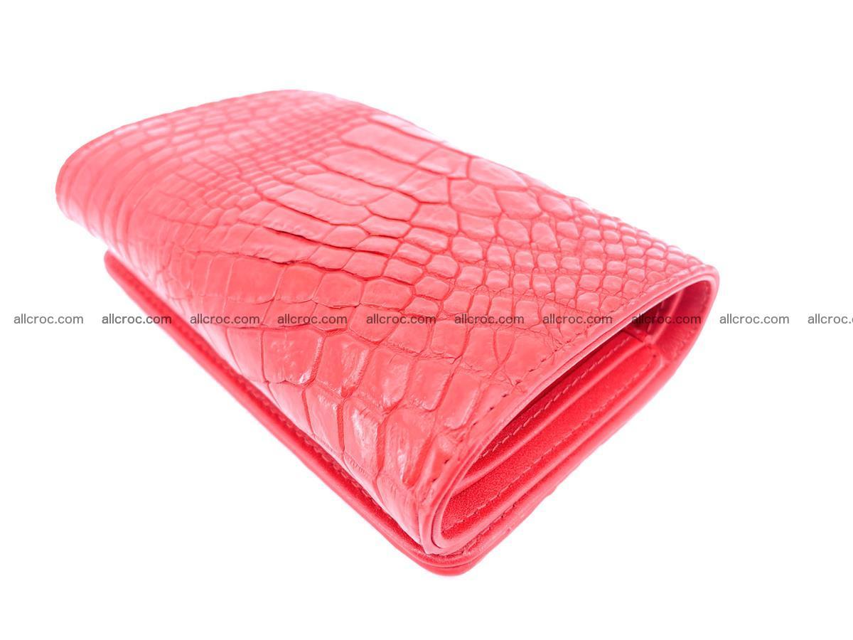 Crocodile skin wallet for women 958 Foto 5