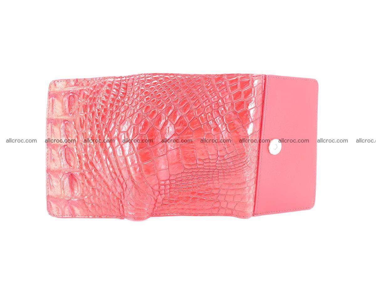 Crocodile skin wallet for women 958 Foto 8