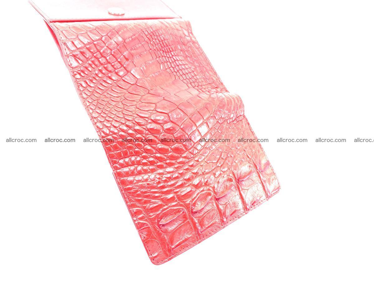 Crocodile skin wallet for women 958 Foto 9