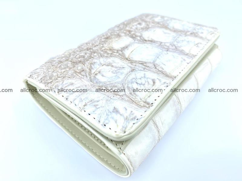 Crocodile skin wallet for women 960