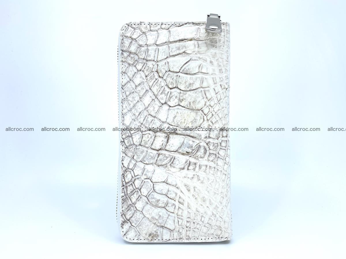 Crocodile skin wallet with zip 968 Foto 4