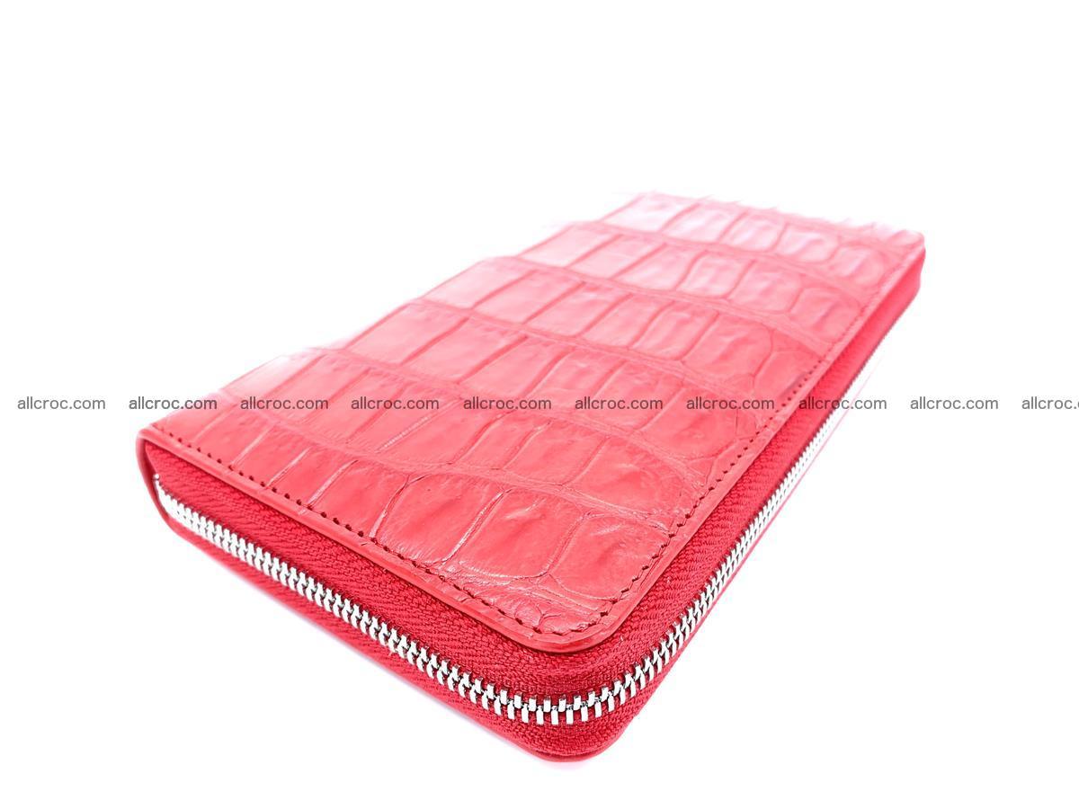 Crocodile skin zip wallet 530 Foto 1
