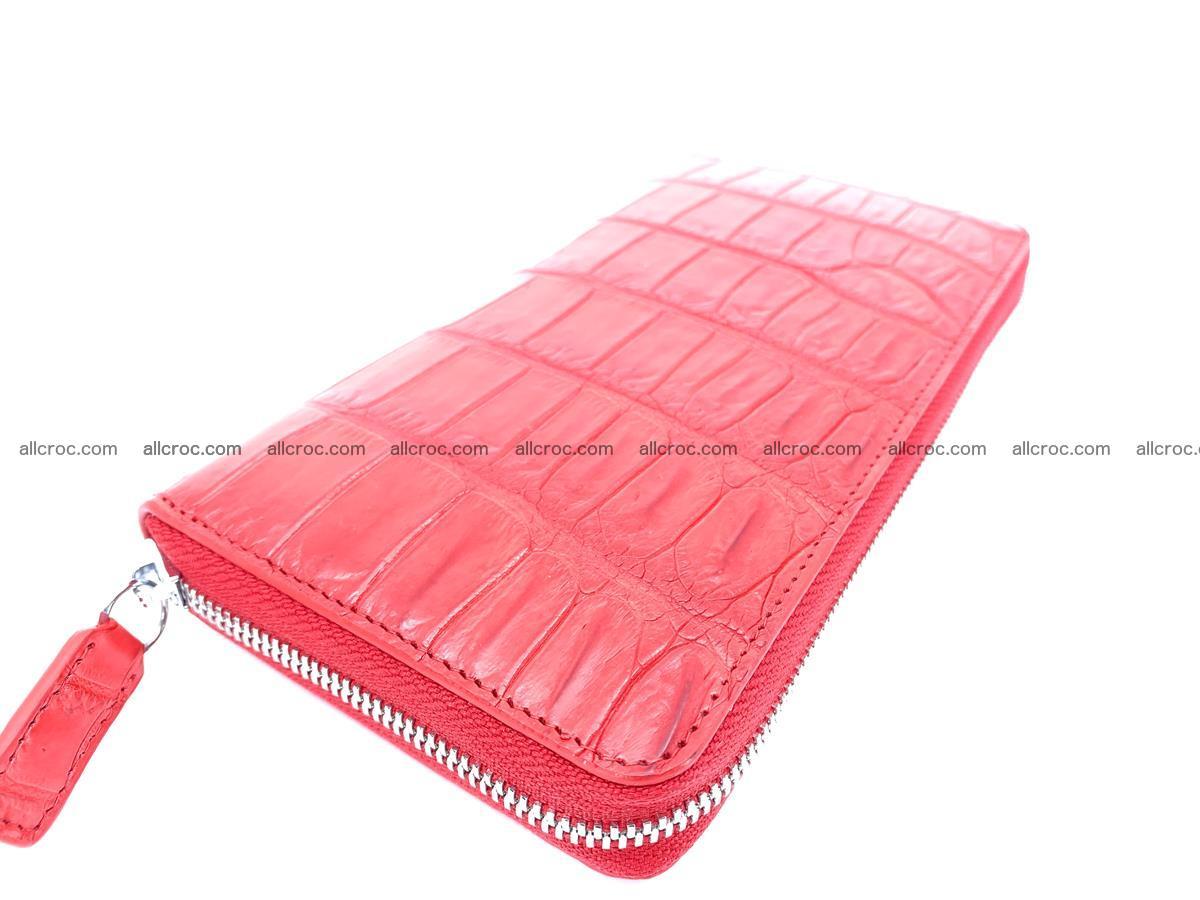 Crocodile skin zip wallet 530 Foto 2