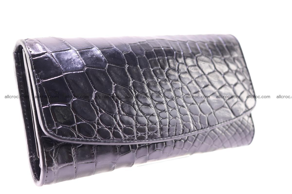 Crocodile trifold wallet for women 278 Foto 3