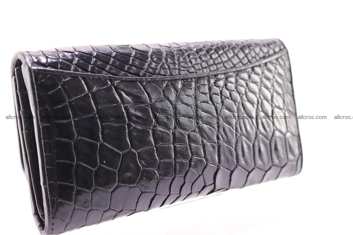 Crocodile trifold wallet for women 278 Foto 7